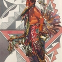 Barnes, Cliff Dancing With Spirit Watercolor Clyde Heron Award