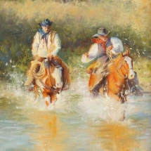 Pam Bunch oil painting American Plains Artists Signature Member