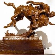 Bob Coffee Bronze American Plains Artists Signature Member