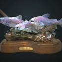 Huggins, Jammey River Dancers Bronze Sculpture Supplies Award