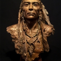 H.R. Kaiser bronze sculpture American Plains Artists Signature Member