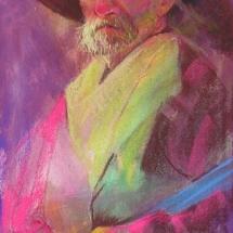 Steven Napper pastel painting American Plains Artists Signature Member