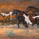 Osburn, Judy Walls That Talk Oil Publishers Award of Excellence Western Art Collector