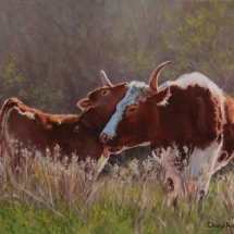 Cheryl Roush oil painting American Plains Artists Signature Member