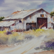 Ken Rowland watercolor painting American Plains Artists Signature Member