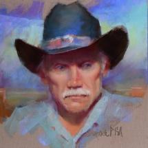 William Schneider pastel painting American Plains Artists Signature Member