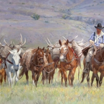 Sherry Blanchard Stuart oil painting American Plains Artists Signature Member