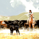 Weller, Don Long Shot Watercolor Publishers Award of Excellence Art of the West Magazine