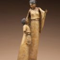 Anderson, Kathy The Girl Who Scattered Stars bronze 21hx9wx10d