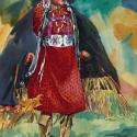 Barnes, Cliff Happy Dancer Watercolor 27x20