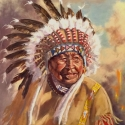 Childress, Patrick Dreams of Feathers Oil 20x16