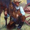 Dorsey, David Good Grass Acrylic 16x20