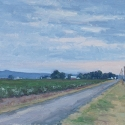 Groesser, Debra Along Mikulik Road Oil 8x16