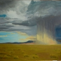 Lange, Chris Summer Storm Oil 16x20