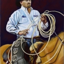 Lindamood, Patsy The Pickup Man Pastel 24x18