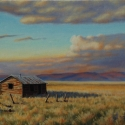 Scheidt, Bill Home on the Plains Oil 16x24