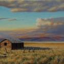Scheidt, Bill Home on the Plains Oil 16x24