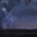 Sliger, Sandy Morning Storm Acrylic 12x16
