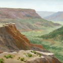 Turner, Cecy Canyon Haze Oil 9x12