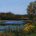 Wallace, Carlene Pretty Water Lake Oil 8x10