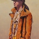 Walsh, Paul Young Spirit Man Acrylic 4x8