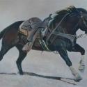 Waltman, Phyllis That Great American Athlete acrylic 20x30