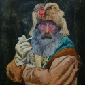 Ward, Gary The Free Trapper Pastel 18x24
