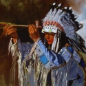 Edwards Glen Sacred Pipe Oil 18 x 24 $3,200.00