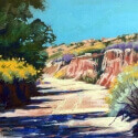 Mahon, Mike Arroyo Shadows Pastel 12x16 $975.