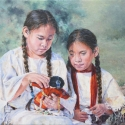 Moore-Knapp Judith A Doll To Share Oil 12 x 16 $1,600.00