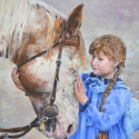 Moore-Knapp JudithIn the Moment Oil 12 x 9 $975.00