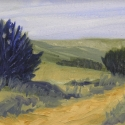 Napper Steven Along the Rim Oil 6 x 12 $425.00