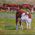 Roush Cheryl The Wanderer Oil 14 x 18 $1,900.00