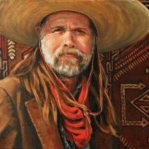 Mejo Okon oil painting American Plains Artists Signature Member