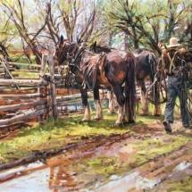 Barbara S. Edwards Oil Painting American Plains Artists Signature Member