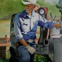 Fritzi Heron watercolor painting American Plains Artists Signature Member