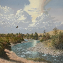 Barron Postmus oil painting American Plains Artists Signature Member