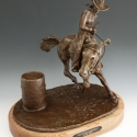 Coffee, Bob Runnin Barrels Bronze 12x12x12