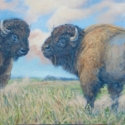 Howerton, Helen Ready to Rumble Acrylic 10x20