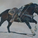 Waltman, Phyllis That Great American Athlete acrylic 20x30