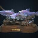 Huggins Jammey River Dancers Bronze 9 x 15 x 6.5 $4,500.00