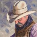 Irvin Mike Larry Oil 14 x 14 $1,100.00