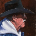 Irvin Mike Trail Boss Oil 12 x 12 $850.00