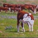 Roush Cheryl The Wanderer Oil 14 x 18 $1,900.00