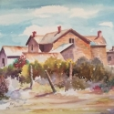 Rowland Ken West Texas Ranch House WC 18 x 22 $750.00