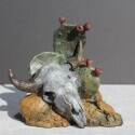 Venosdel, Burneta Prairie Treasures Bronze 7x6x5 $900.