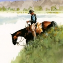 Weller Don Grassy Slope WC 19.5 x 14 $2,750.00
