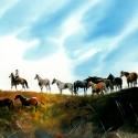 Weller Don Horse Horizon WC 13 x 22 $3,000.00