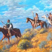 Rita Morris oil painting American Plains Artists Signature Member