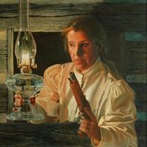 T.W. Vanya oil painting American Plains Artists Signature Member